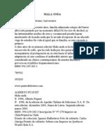 1e964 Malaonda,(Albertofuguet)Libro1a4medio