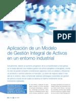 Aplicación de Un Modelo de Gestion Integral de Activos. 2008