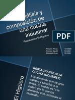 Cocina Industrial - El Higuero