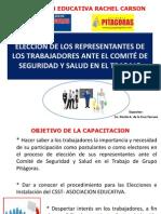 Sensibilizacion Eleccion de Representantes de Trabajadores Ante Comite Sst 20 Junio 2014
