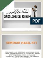 Seminar Hasil Kti