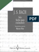 BWV 1007, Tr Marcos Diaz