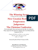 Sp Warfare, New Creation, Forgiveness and Judgement