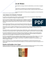 Historia de la Bandera de México -apuntes