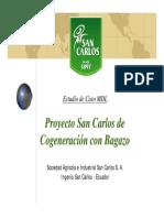Generación Eléctrica Ingenio San Carlos