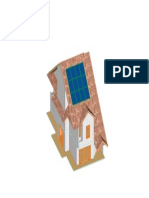 Rumah Solar Front Isometric View