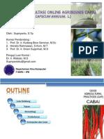 Sistem Konsultasi Online Agribisnis Cabai (Capsicum annuum. L)