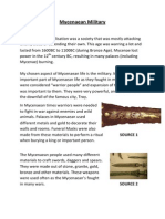 mycenaean military