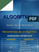 Herramientas de Un Algoritmo