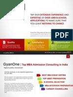 GyanOne MBA Admission Consultants