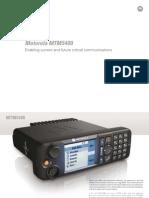Motorola MTM5400 Brochure