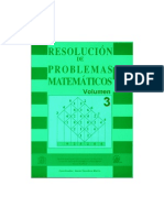 Resolucion de Problemas Matematicos (Vol 3)