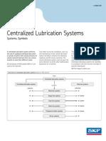 SKF lubricating system