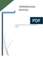 Terminoligia Musical Katerin