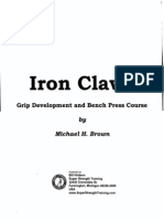 Iron Claws Course Michael H Brown