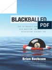 Blackball Book With Cover