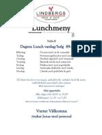Lunchmeny Vecka 26