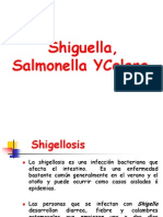Shiguella Salmonella Colera