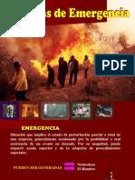 Exposicion Brigadas de Emergencia
