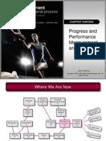 Progress & Performance Measurement & Evaluation