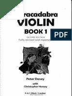 Abracadabra Violin - Ingles