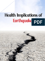 Health Implications of Earthquakes