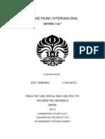 Treaty-Permanent Establishment (Resume OECD Commentary)