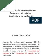 Relación Huésped-Parásitos en Equinococosis Quística
