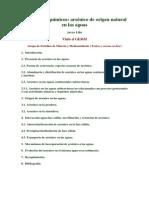Peligros Geoquímicos Del Arsénico - Javier Lillo