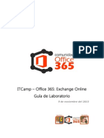 ITCamp Exchange Online - Guia Laboratorio