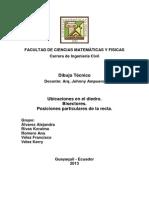 Dibujo Tecnico - Representacion de La Recta