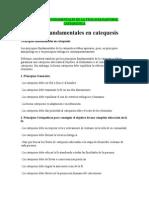 Principios Fundamentales de La Teología Pastoral Catequetica