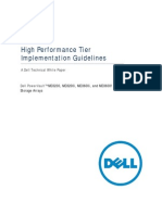 Dell MD Storage - High Performance Tier Implementation Guide