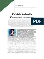 Andreella, Fabrizio - Cuerpo y Técnica; El Mismo Destino