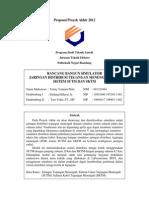 Proposal PRANCANG BANGUN SIMULATOR JARINGAN DISTRIBUSI TEGANGAN MENENGAH (JTM) SISTEM SUTM DAN SKTMa