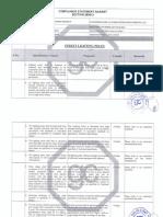 compliance statement