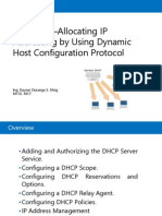 Module 4 - Assign IP Address Using Dynamic Host Configuration Protocol (DHCP)