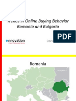 Trends in Online Buying Behavior Romania and Bulgaria