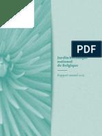 Rapport annuel 2013 (Français)