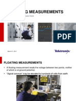 Floating Measurements Presentation