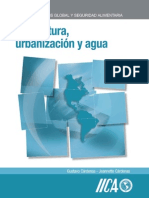 Agricultura Urbanización y Agua