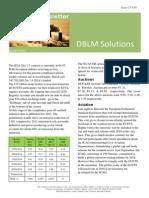 DBLM Solutions Carbon Newsletter 03 April 2014