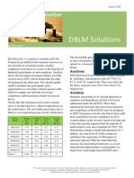 DBLM Solutions Carbon Newsletter 24 April 2014