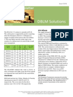 DBLM Solutions Carbon Newsletter 05 June 2014