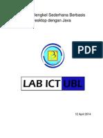 Aplikasi Bengkel Sederhana Java