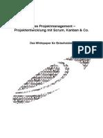 Agiles Projektmanagement – Projektentwicklung mit Scrum, Kanban & Co.