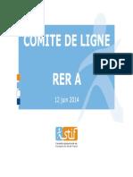Comité de Ligne RER a RATP STIF_12_juin_2014