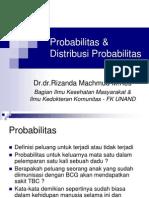 Probabilitas & Distribusi Probabilitas