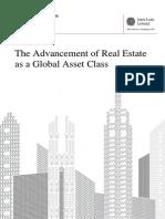 JLL Real Estate as a Global Asset Class