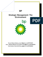 BP - Strategic Management - The Environment